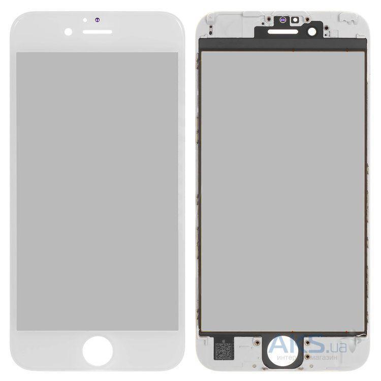 Корпусне скло дисплея Apple iPhone 6S (з OCA плівкою) with frame (original) White