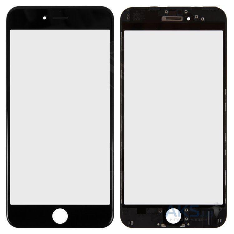 Корпусное стекло дисплея Apple iPhone 6 Plus (с OCA пленкой) with frame (original) Black