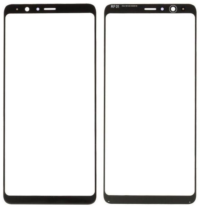Корпусное стекло дисплея Samsung Galaxy A8 Star G855F, A9 Star (с OCA пленкой) Black