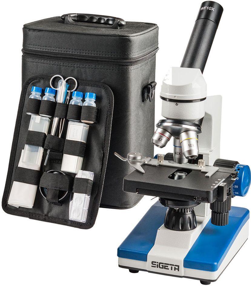 Микроскоп SIGETA UNITY PRO 40x-640x LED Mono White/Blue
