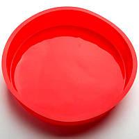 Силиконовая форма Круг, диаметр 22 см