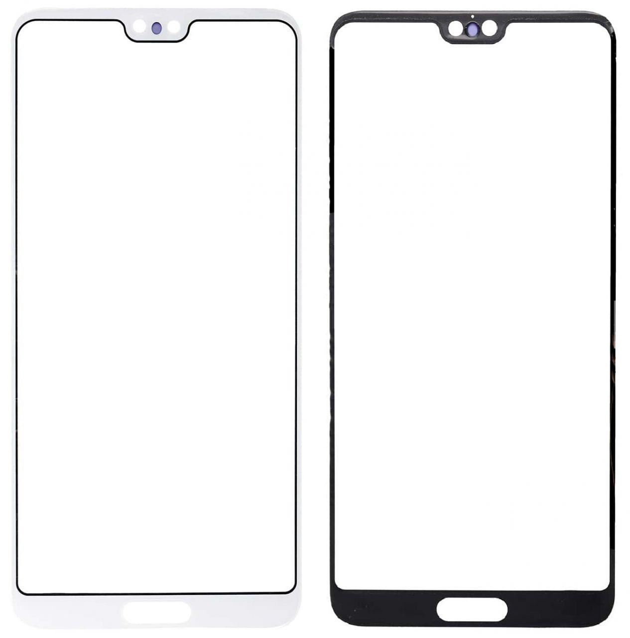 Корпусное стекло дисплея Huawei P20 Pro (CLT-L29, CLT-L09) White