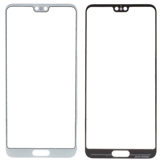 Корпусное стекло дисплея Huawei P20 White