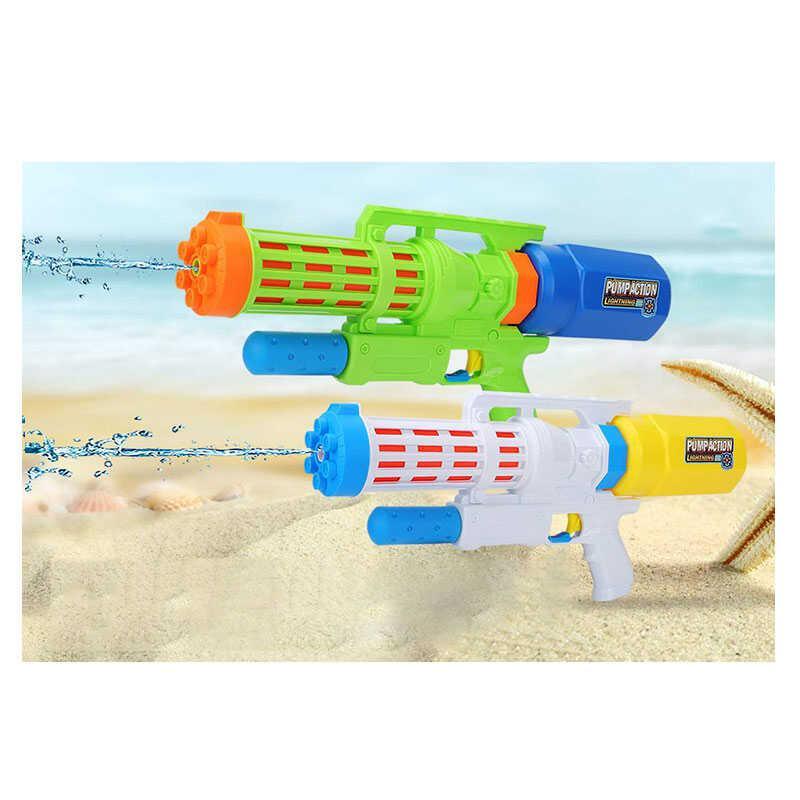 Водный пистолет XD 10 (72/2) 2 цвета, с накачкой, в кульке