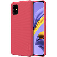 Чехол Nillkin Super Frosted Shield Samsung A515 Galaxy A51 Red