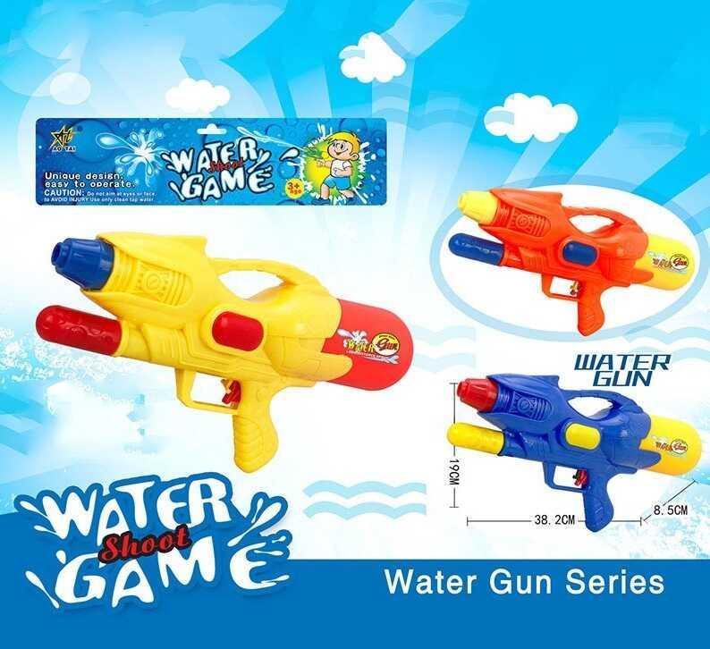Водный пистолет с накачкой М 323 (60/2) 4 цвета, в кульке