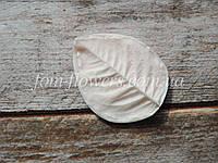 Молд Лист Розы S 5,5х4,4 см