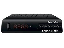 Цифровой тюнер Т2 World Vision Foros Ultra