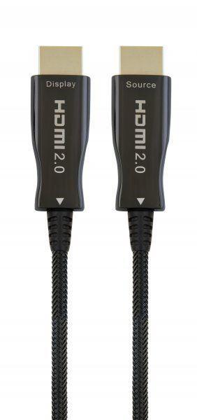 Видеокабель Cablexpert активный оптический (AOC) HDMI V.2.0 50m (CCBP-HDMI-AOC-50M) Черный