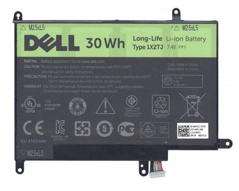Аккумулятор для планшета Dell Latitude ST-LST01 / 1X2TJ (4142 mAh) Original