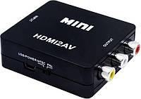 Видео переходник (адаптер) STLab AV/RCA/CVBS 0.15 м Black, фото 1