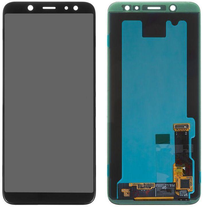 Дисплей Samsung Galaxy A6 A600 с тачскрином, (OLED), Black