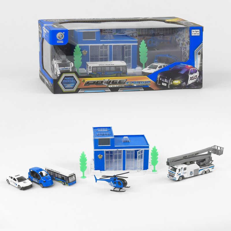 "Гараж 95533-31 ""Полиция"" (24/2) металлопластик, в коробке"