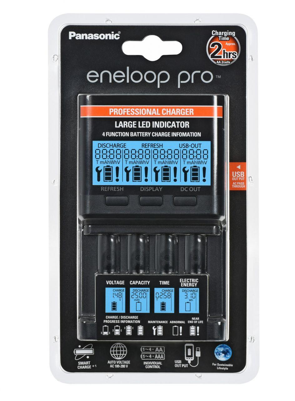 Зарядное устройство Panasonic Eneloop Pro Flagship Charger (BQ-CC65E)