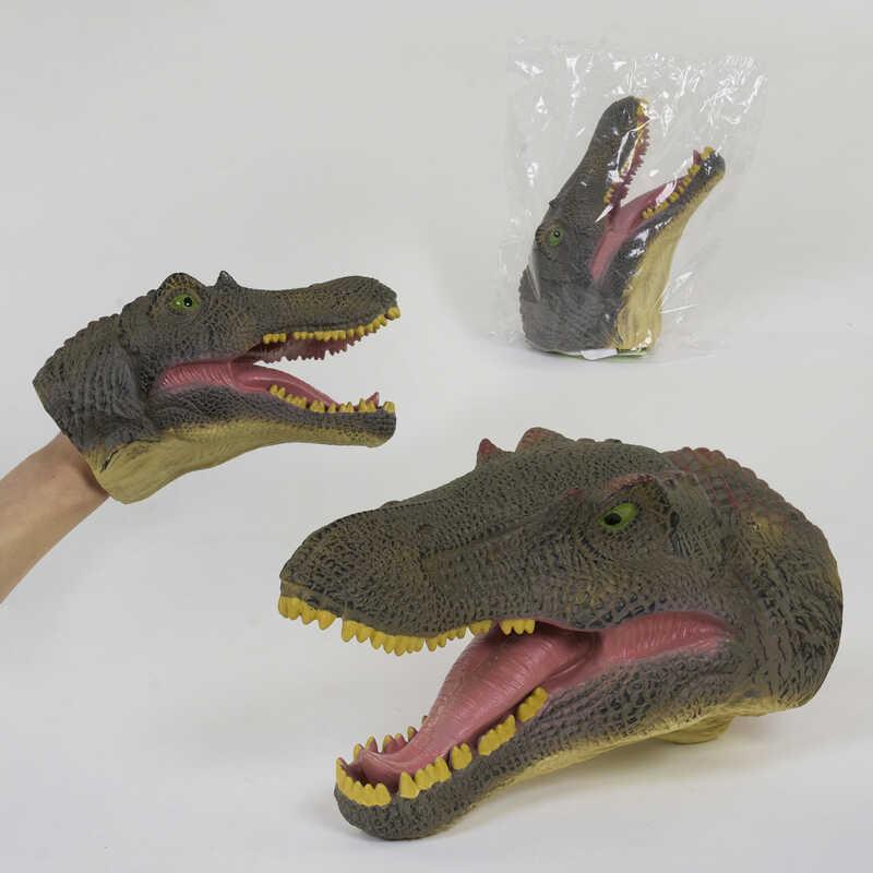 Голова Динозавра Х 309 (48) надевается на руку, в кульке