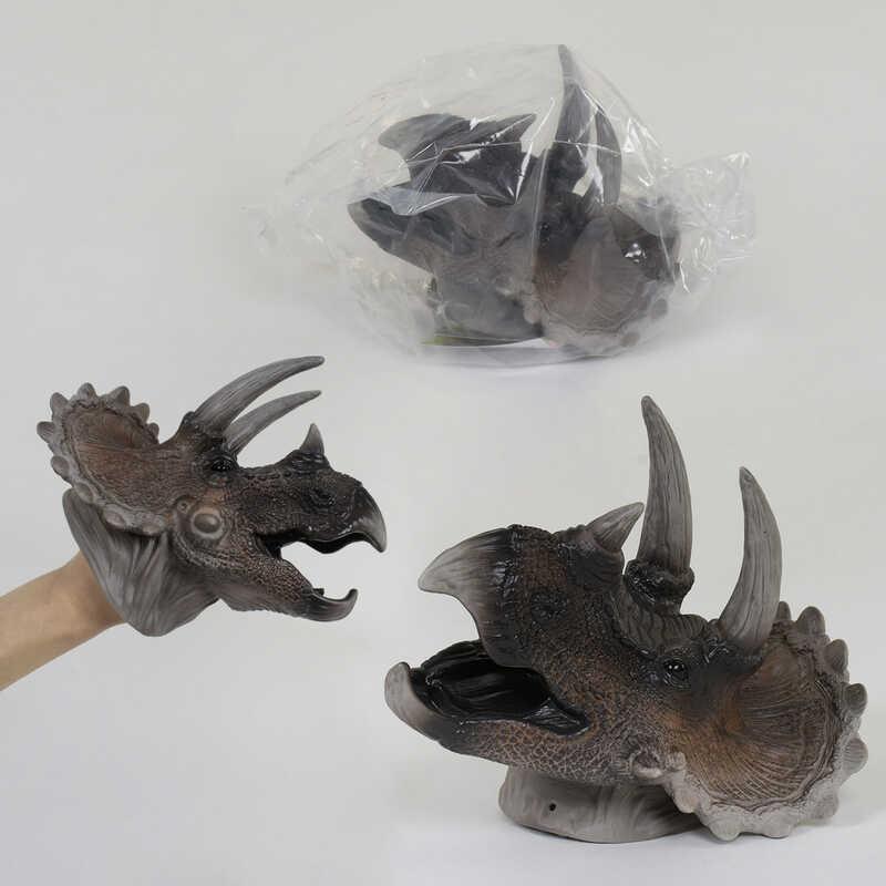 Голова Динозавра Х 314 (36) надевается на руку, в кульке