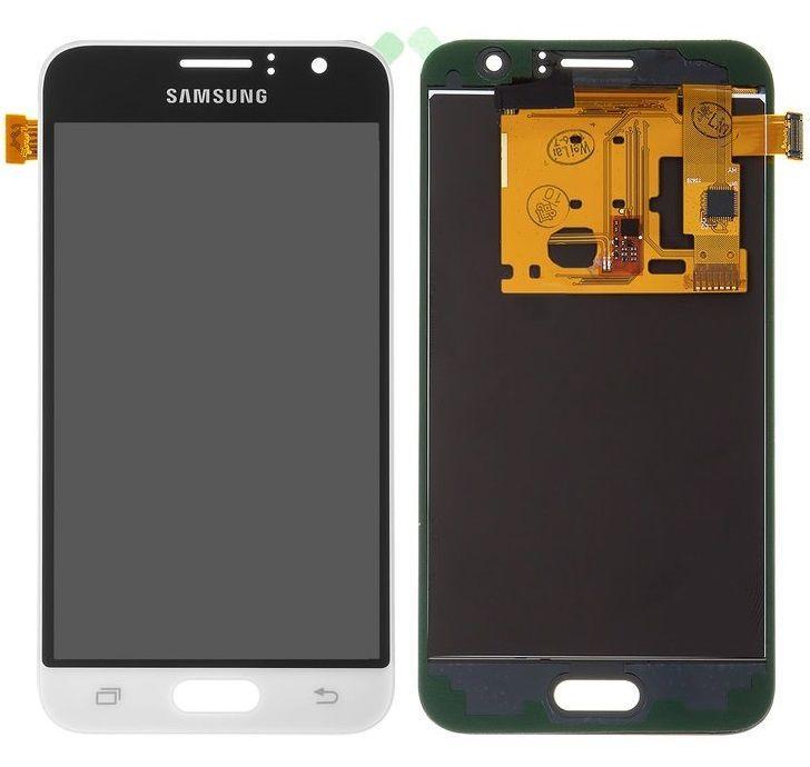 Дисплей Samsung Galaxy J1 моделі j120 2016, J120H + Touchscreen (TFT з регулюванням яскравості, copy) White