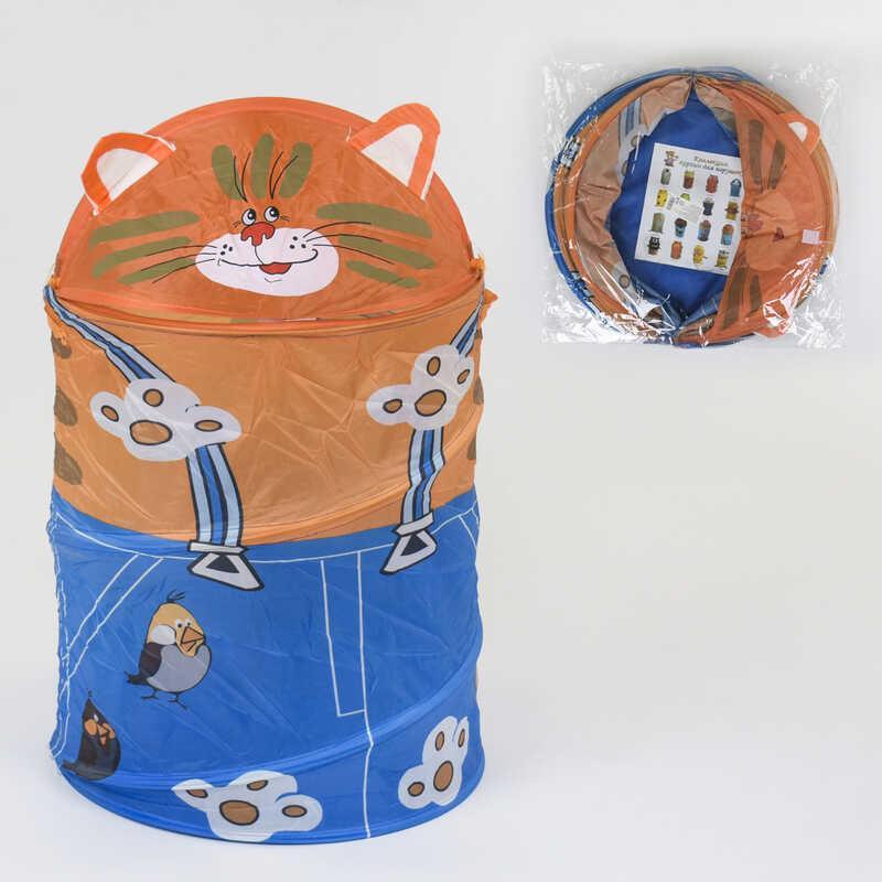 Корзина для игрушек Кот А 01471 (60) 42х65 см, в кульке