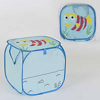 Корзина для игрушек С 36580 (120) 45х46см, в кульке