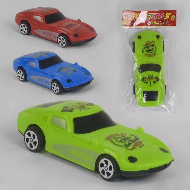 Машинка 399-360 (960/2) інерція, 3 кольори, в кульку
