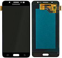Дисплей Samsung Galaxy J5 J510 2016 с тачскрином, (TFT), Black