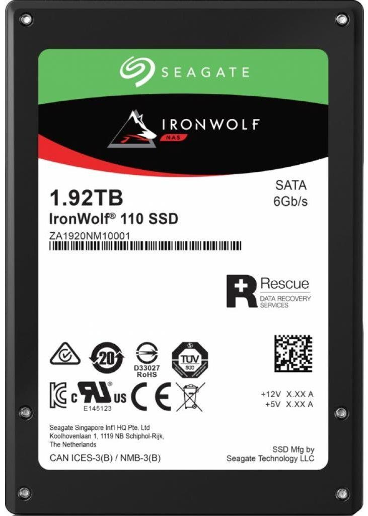 SSD Накопитель Seagate IronWolf 110 1.92 TB (ZA1920NM10011)