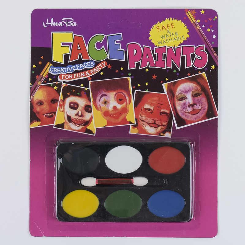 Краски для лица С 37135 (600) 6 цветов в упаковке