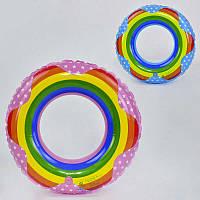 Круг для плавания С 29061 (240) 2 цвета, 60см