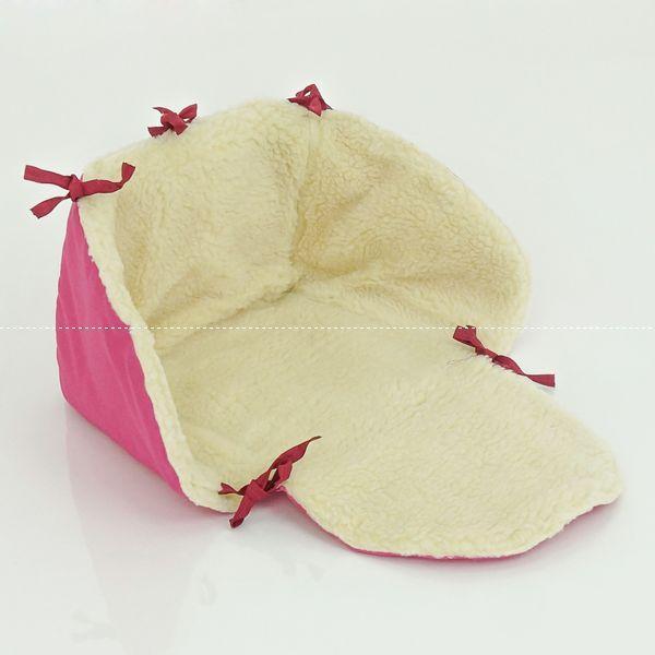 Гр Сиденье в санки 381 (1) цвет малиновый