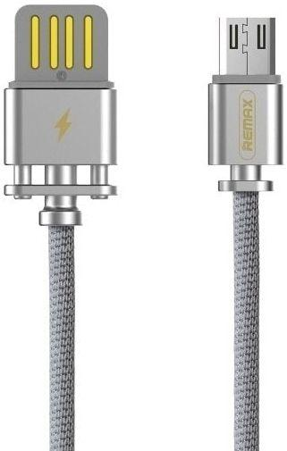 Кабель USB Remax Dominator Micro USB Cable Silver (RC-064m)
