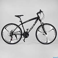 Алюминиевый велосипед 26 дюймов 17 дисковые колёсарама EVOLUTION CORSO Shimano, фото 1