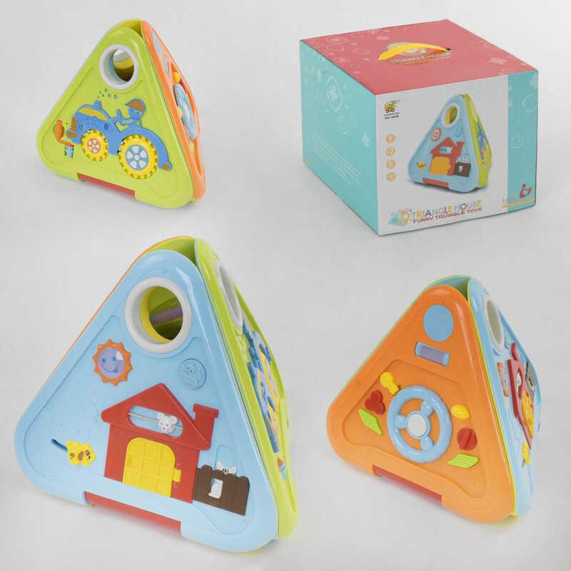 Куб музыкальный 6628 (6/2) в коробке