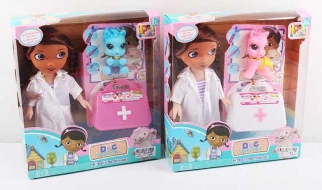 "Кукла ""Доктор"" 9120 D (48/2) 2 вида, в коробке"