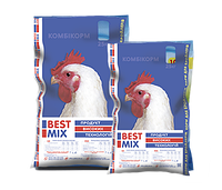 Комбикорм Best Mix старт для бройлеров 25кг