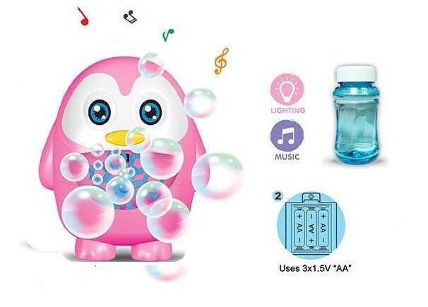 Игра с мыльными пузырями РР - 05 (72/2) световые и звуковые эффекты, на батарейках, в коробке