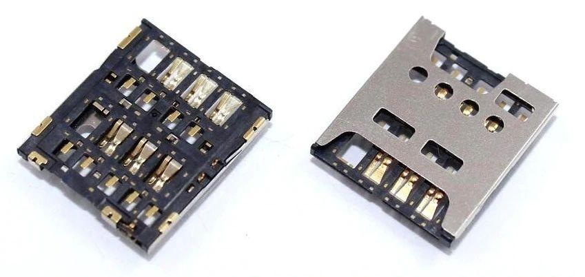 Коннектор SIM-карты Sony Xperia E4g E2003 \ E2006 \ E2053