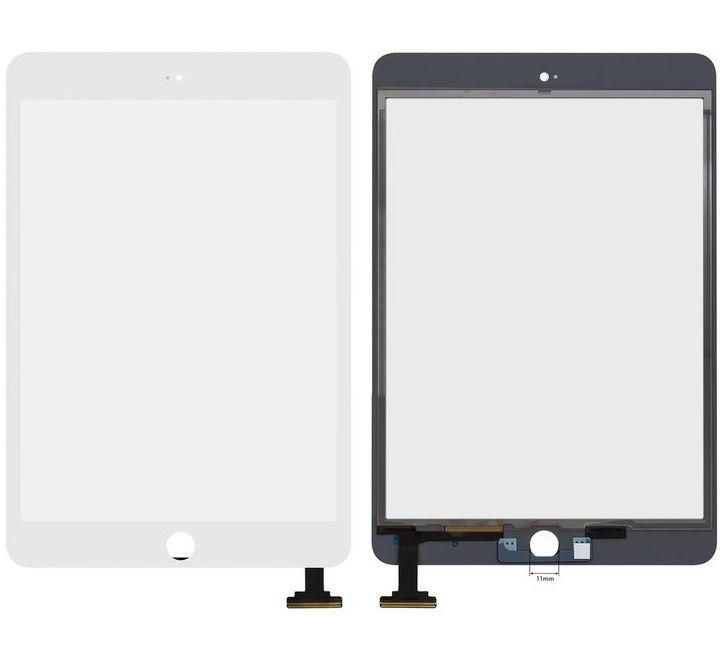 Сенсор (тачскрин) Apple iPad Mini 3 Retina (A1599, A1600) White