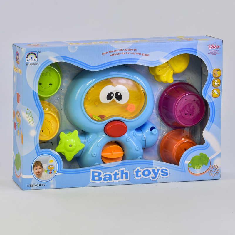 Игрушка для купания 8820 (24) Осьминог,  в коробке