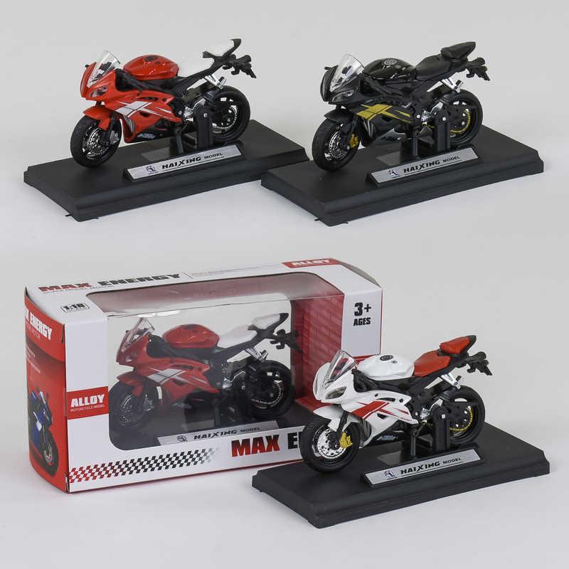 Мотоцикл металлопластик HX 812 (240/5) 3 цвета, в коробке