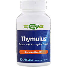 "Комплекс для иммунитета Nature's Way ""Thymulus Immune Health"" тимьян с экстрактом астрагала (60 капсул)"