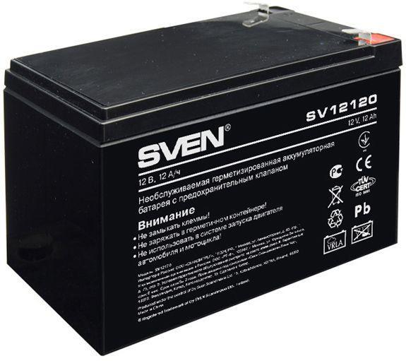 Аккумуляторная батарея Sven 12V 12AH (SV 12120) AGM