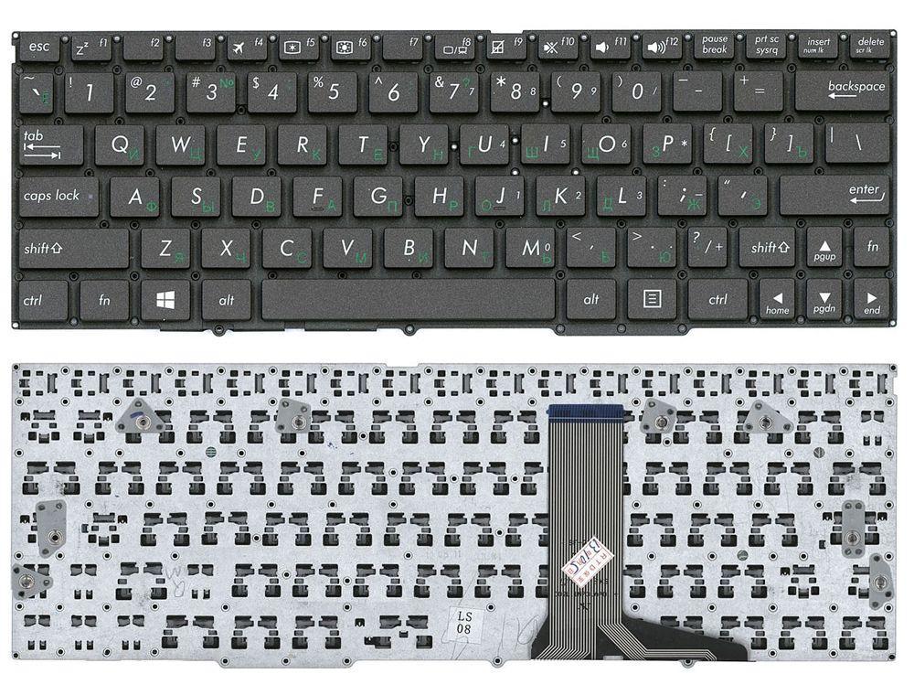 Клавиатура для ноутбука Asus TF600 без рамки черная