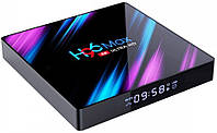 Смарт приставка Android TV Box H96 Max 4/64 GB, фото 1