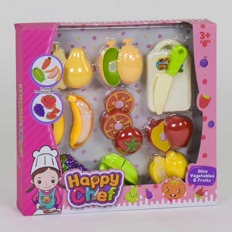 Набор фруктов 30022-1 (54) на липучках, в коробке