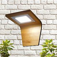 Настенный светодиодный светильник из дерева 6W ,LED бра на стену LS000011