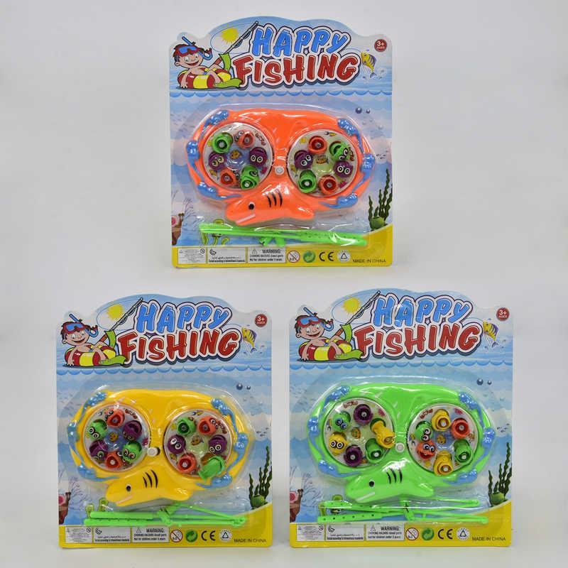 Рыбалка заводная 686-2 А (288) 3 цвета, на листе