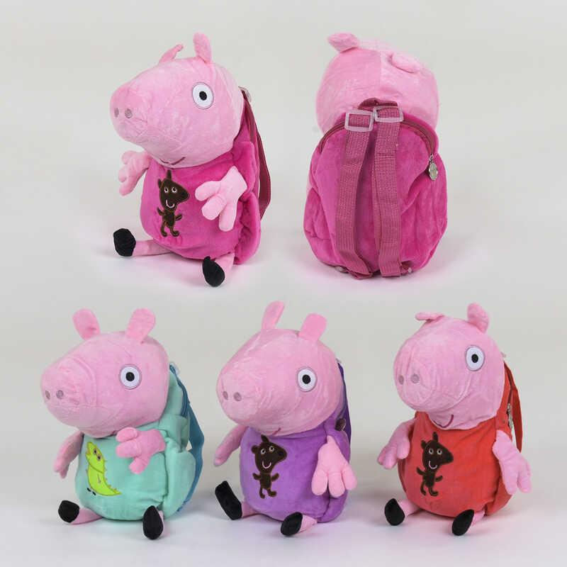 Рюкзак мягкий Свинка С 31182 (60) 4 цвета