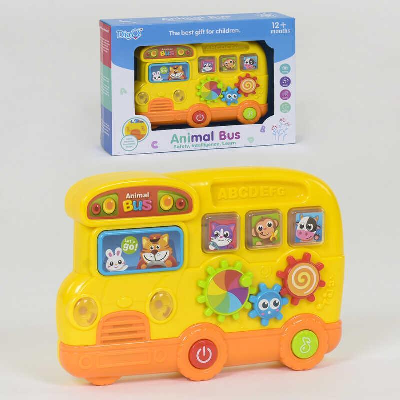 """Піаніно """"Автобус"""" WD 3749 (48/2) світло, звук, в коробці"""