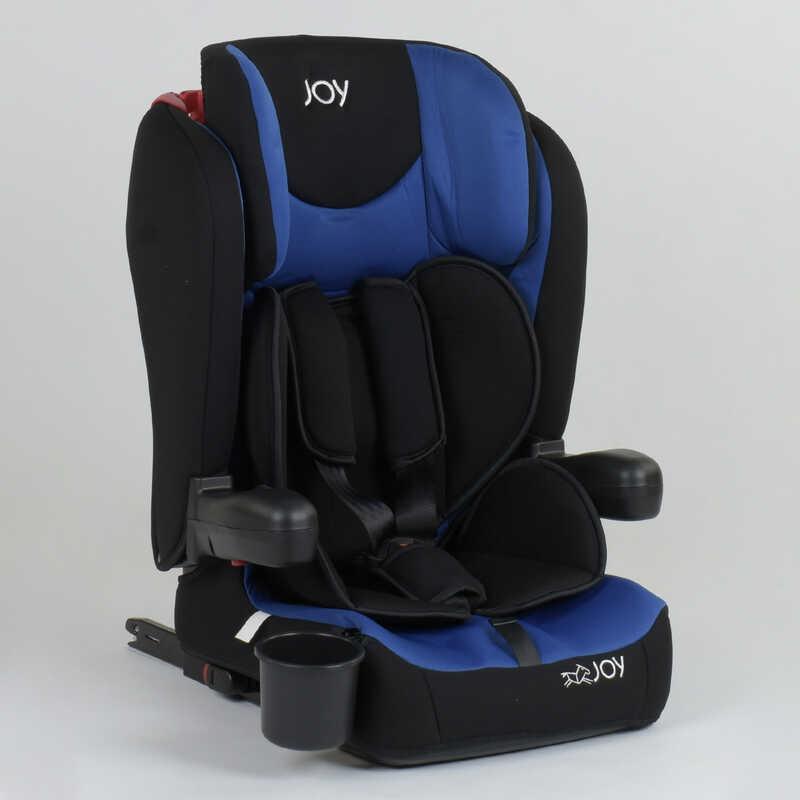 Детское автокресло JOY 43098 (1) система ISOFIX, универсальное, группа 1/2/3, вес ребенка от 9-36 кг