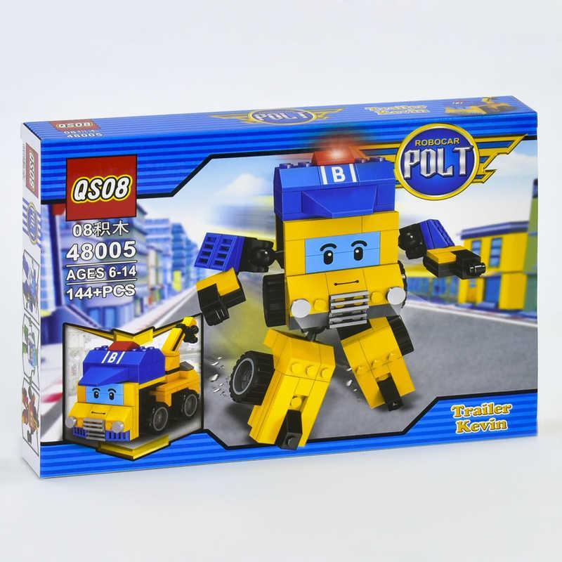 """Конструктор 2в1 48005 """"ПОЛИ"""" (108/2) 144 дет, в коробке"""